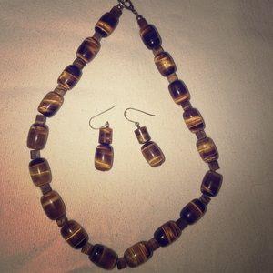 Jewelry - Tiger eye gemstone